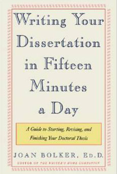 Writing-Your-Disseration-in-Fifteen-Minutes-a-Day