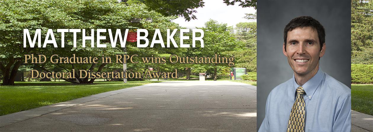 Matthew Baker Dissertation Award